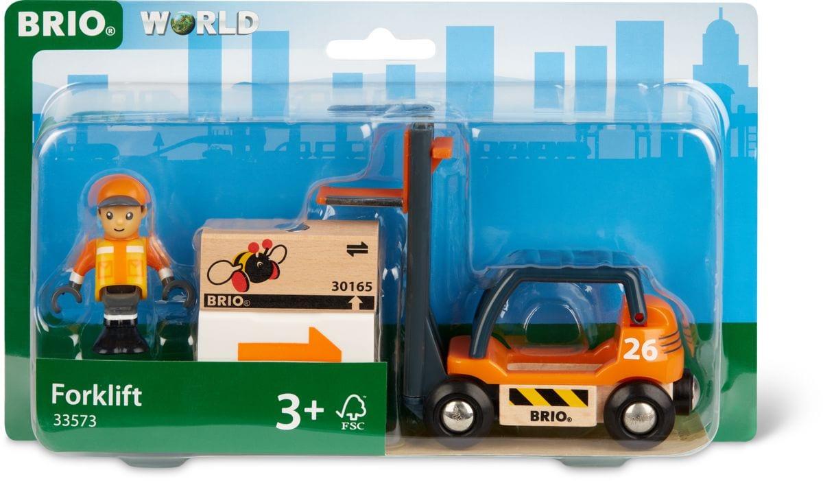 Brio Gabelstapler (FSC®) Bahn
