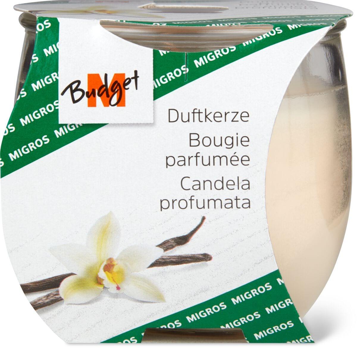 M-Budget Candela profumata alla vaniglia