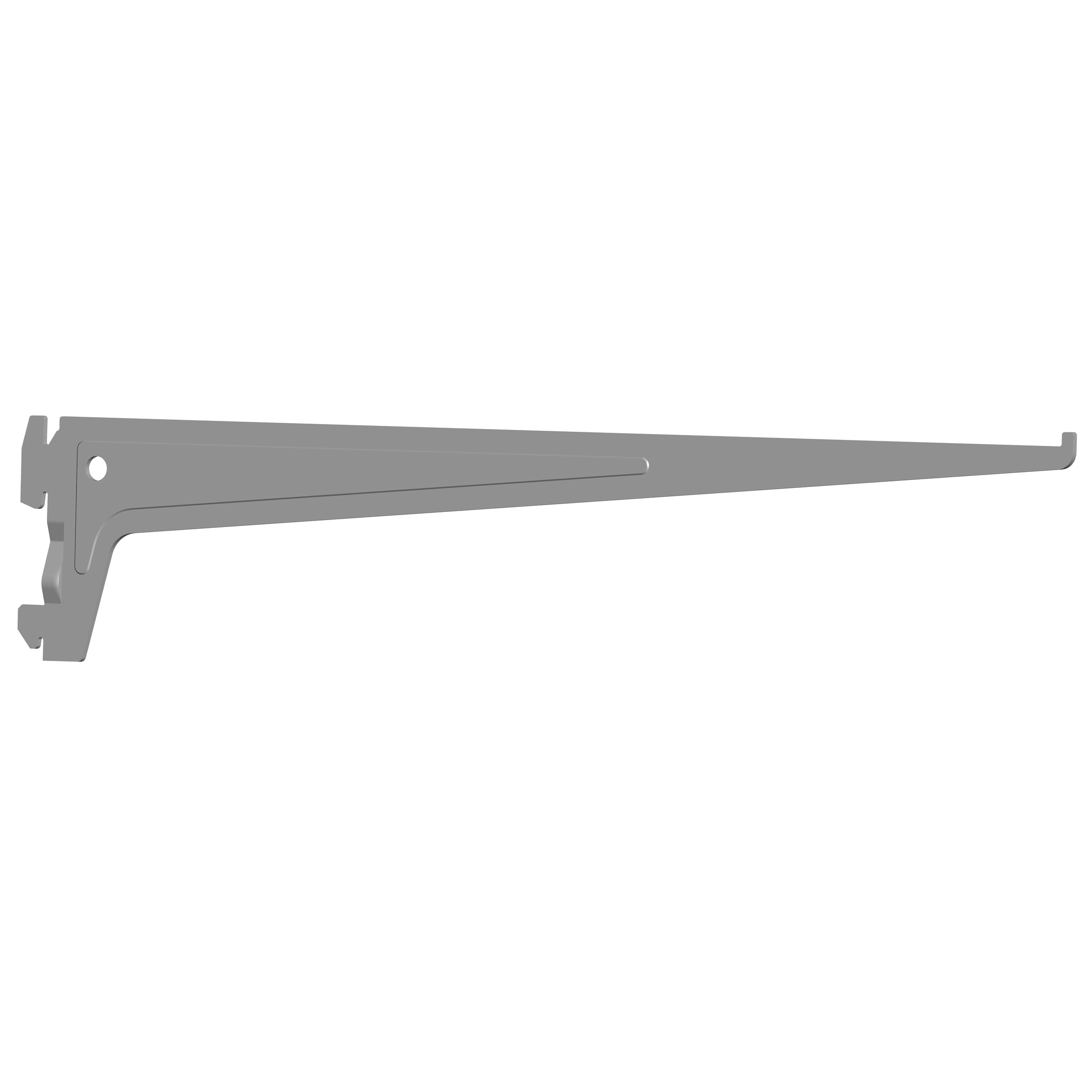 ELEMENTSYSTEM PRO-Träger CLASSIC weissalu 400 mm