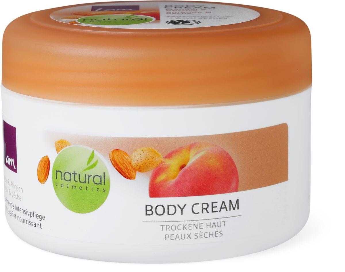I am Natural Cosmetics Bodycream amande&pêche