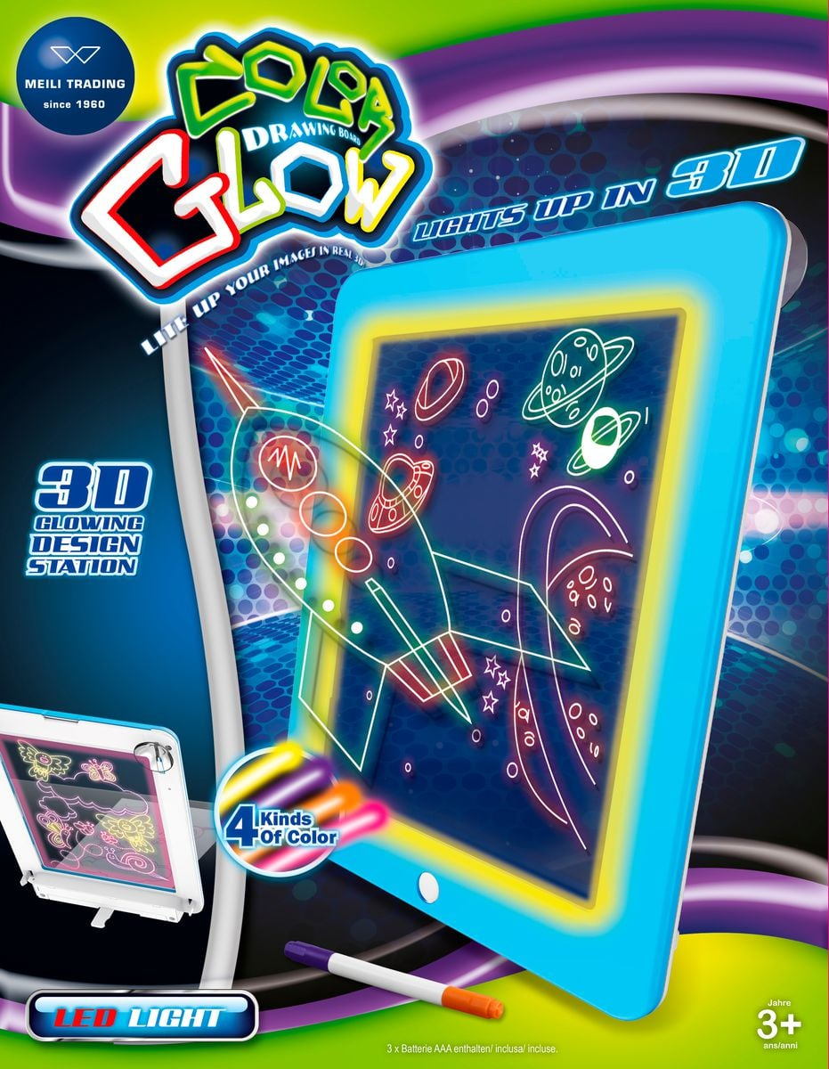 Glow Crazy Disco mit Sound