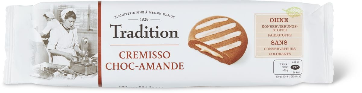 Tradition cremisso Choc-amade