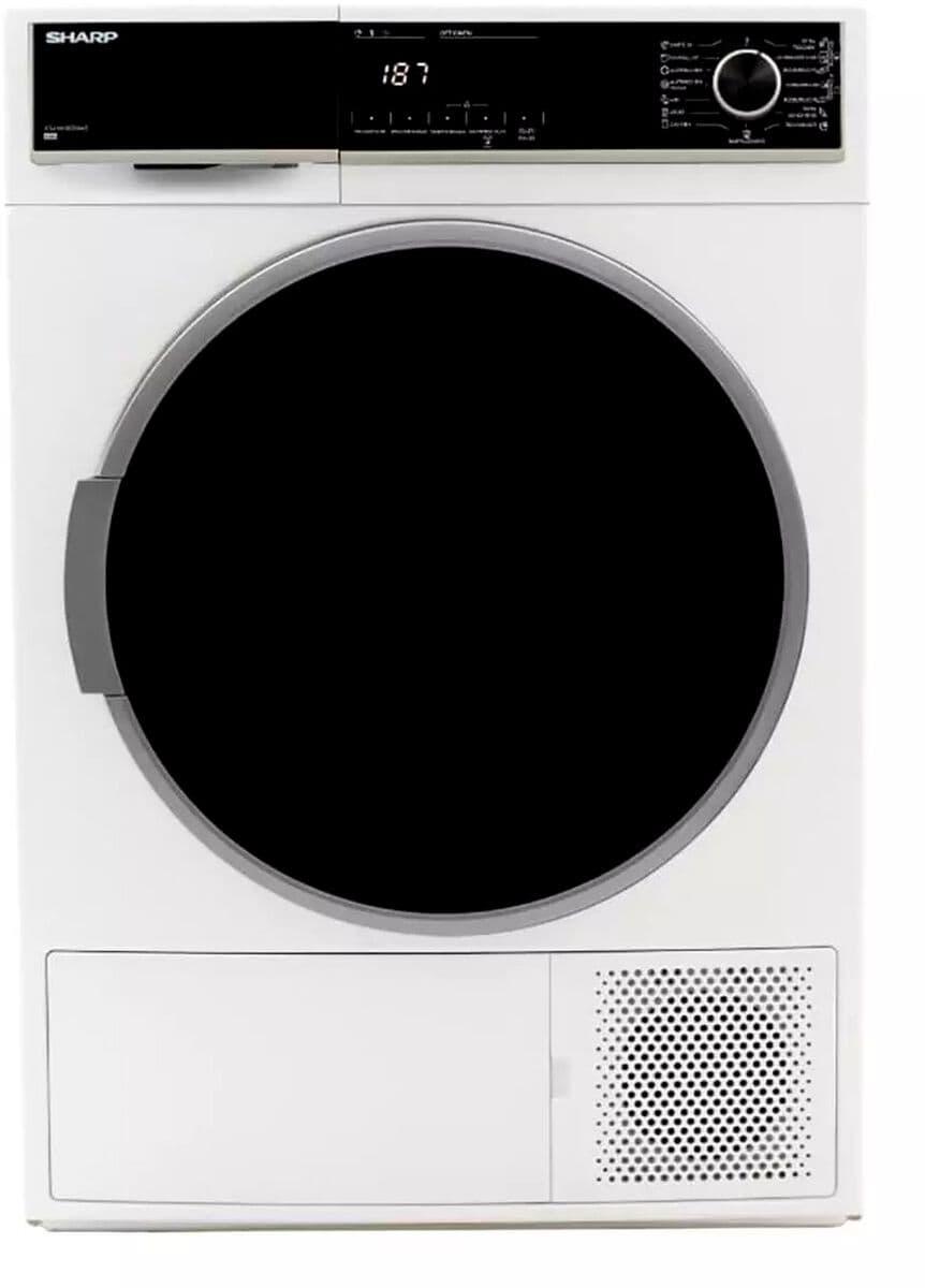 Sharp KD-HHH8S7GW2-DE Waschtrockner