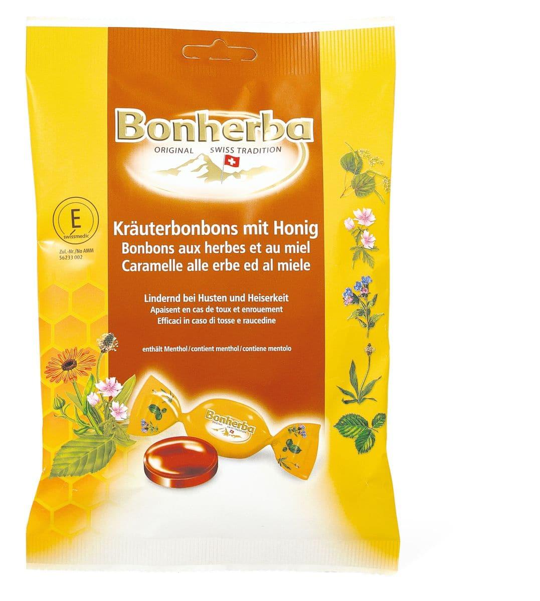 Bonherba Caramelle alle erbe e al miele