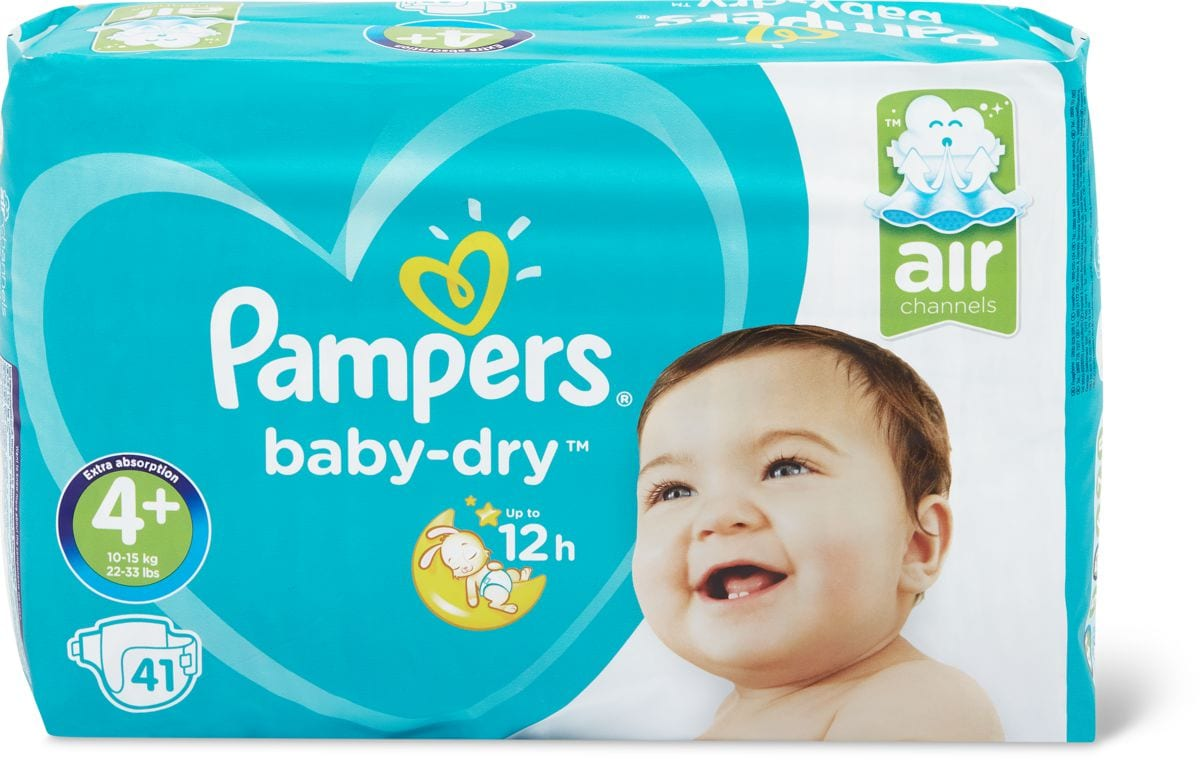 Pampers Baby Dry Gr. 4+