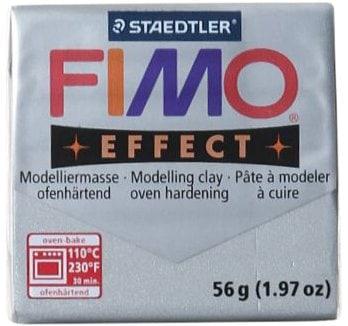 Fimo Fimo Soft  Block Silber