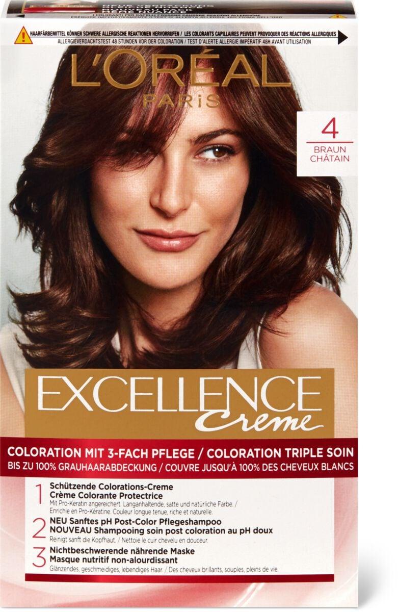 L'Oréal Excellence Creme 4 châtain