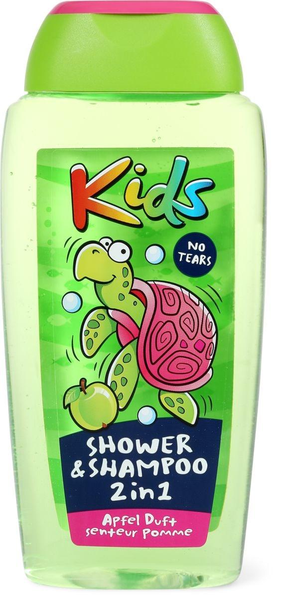 Kids Shower & Shampoo 2in1 Apfel