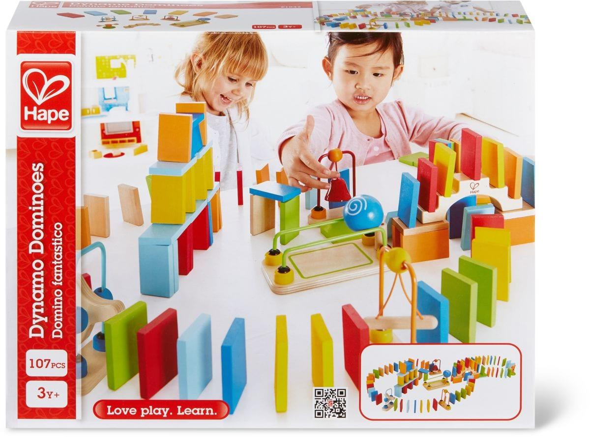 Hape Domino Dinamici Set di giocattoli
