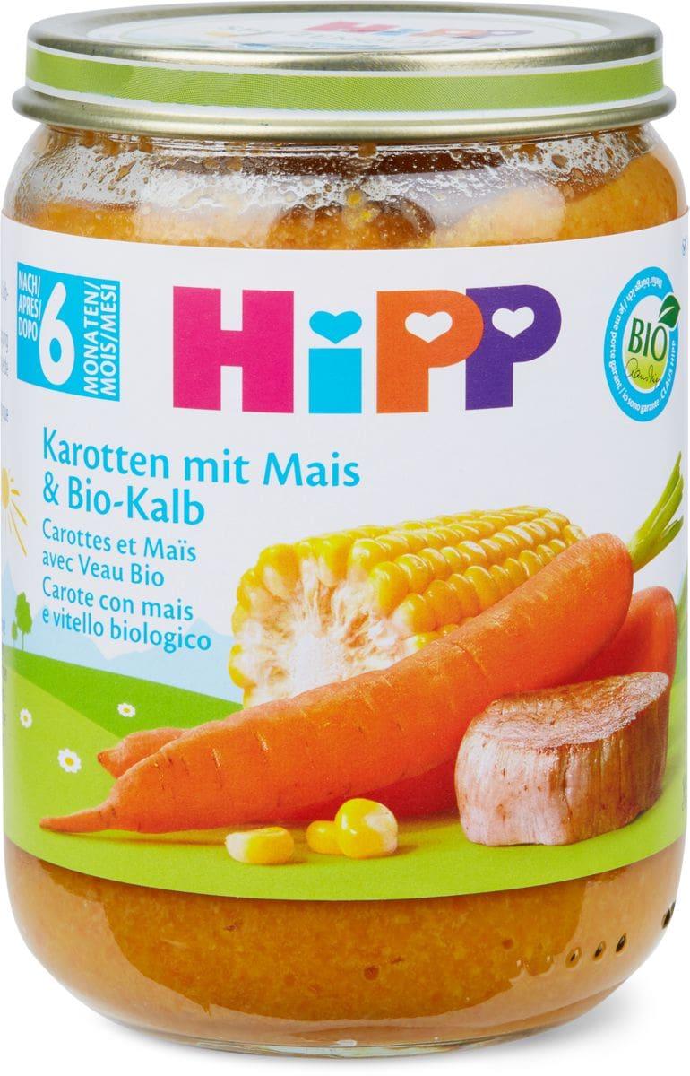 Hipp Karotte Mais Kalb