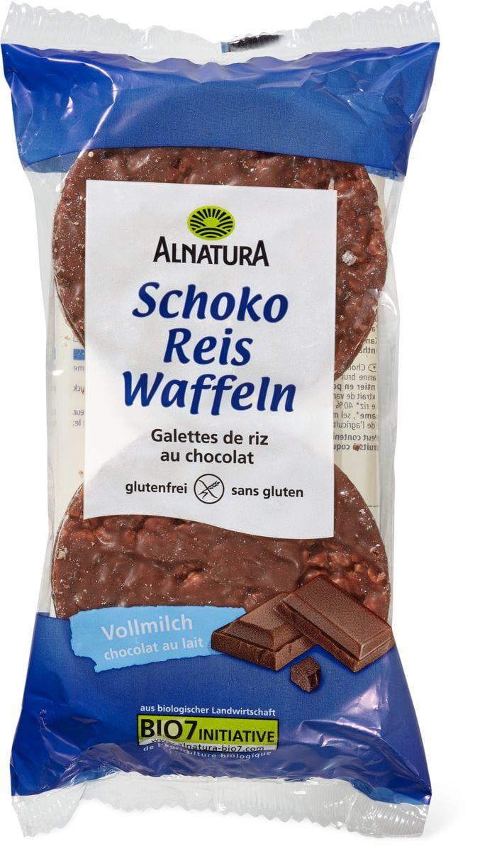 Alnatura Schoko Reiswaffel Vollmilch