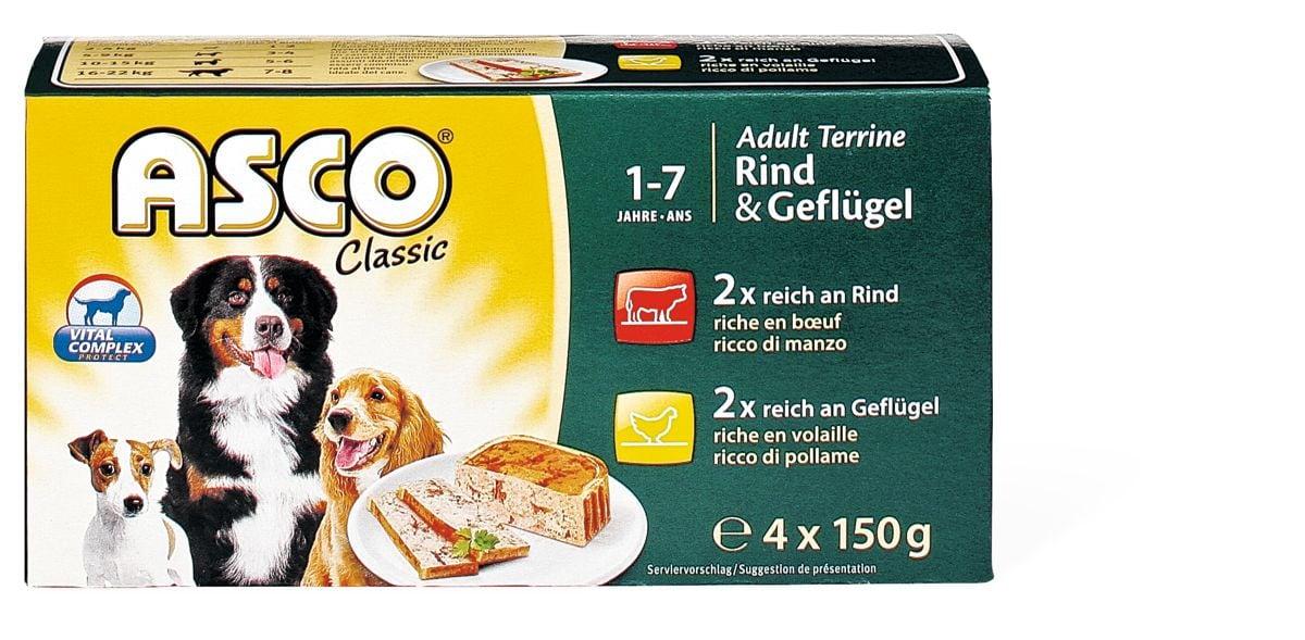 Asco Terrine Rind & Geflügel
