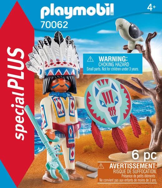 PLAYMOBIL 70062 Chef de tribu autoch