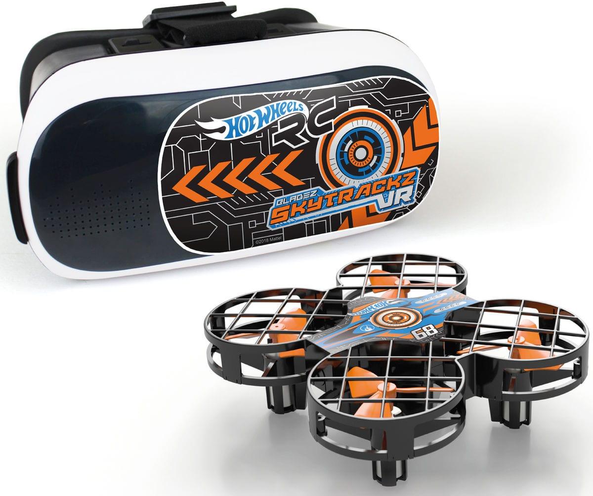 Majorette Set da gara Cyber Drone Giocattoli telecomandati