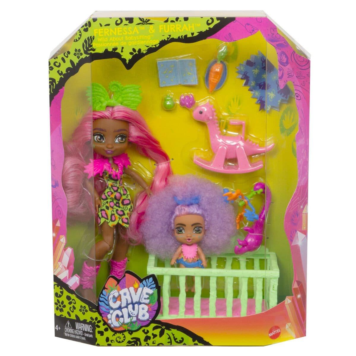 Mattel Cave Club GNL92 Puppen-Spielset Puppenset