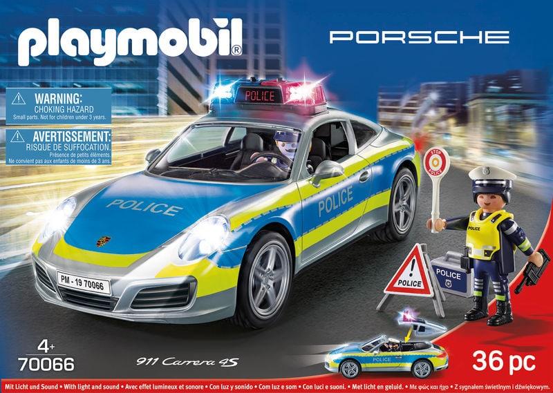 playmobil 70066 porsche 911 carrera 4s polizei migros. Black Bedroom Furniture Sets. Home Design Ideas