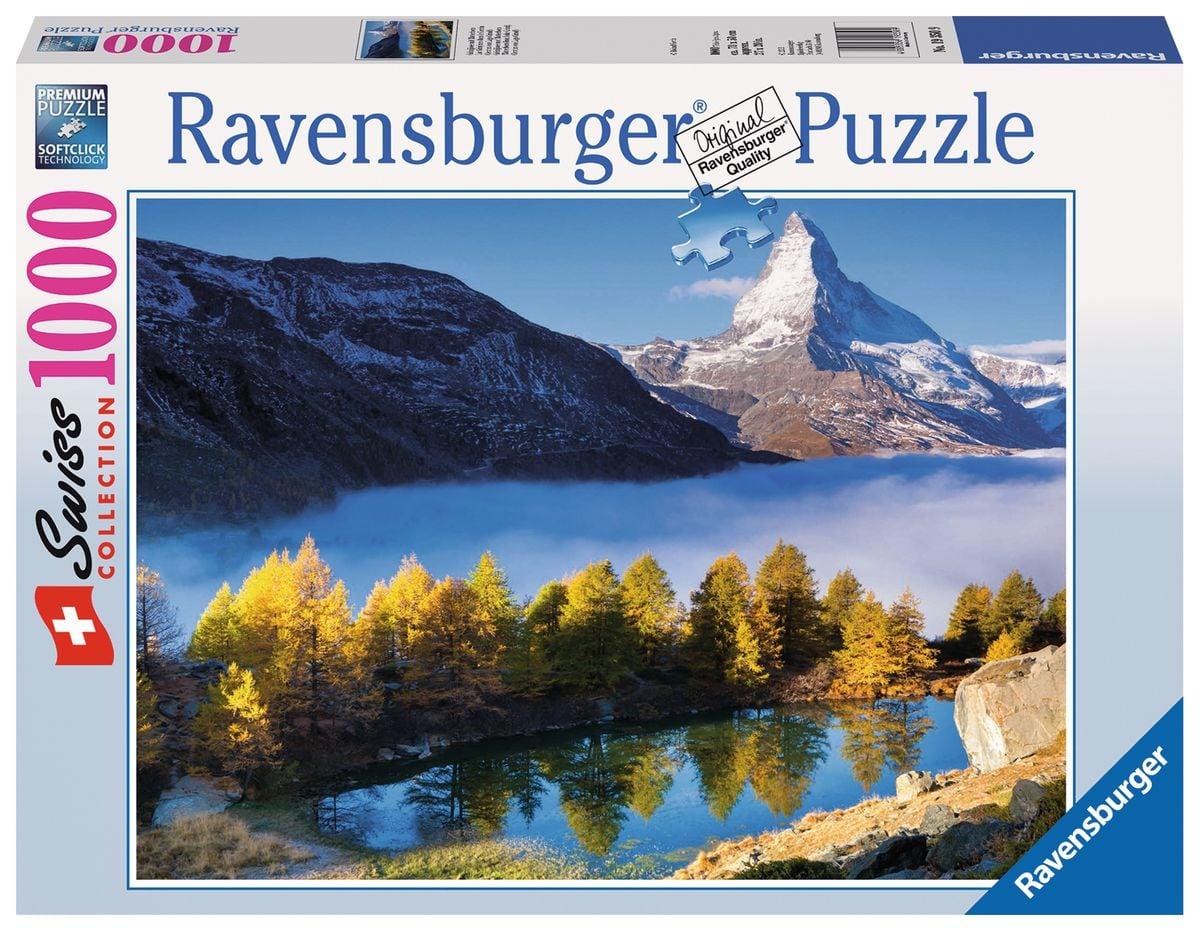 Ravensburger Grindjisee Mit Matterhorn Puzzle