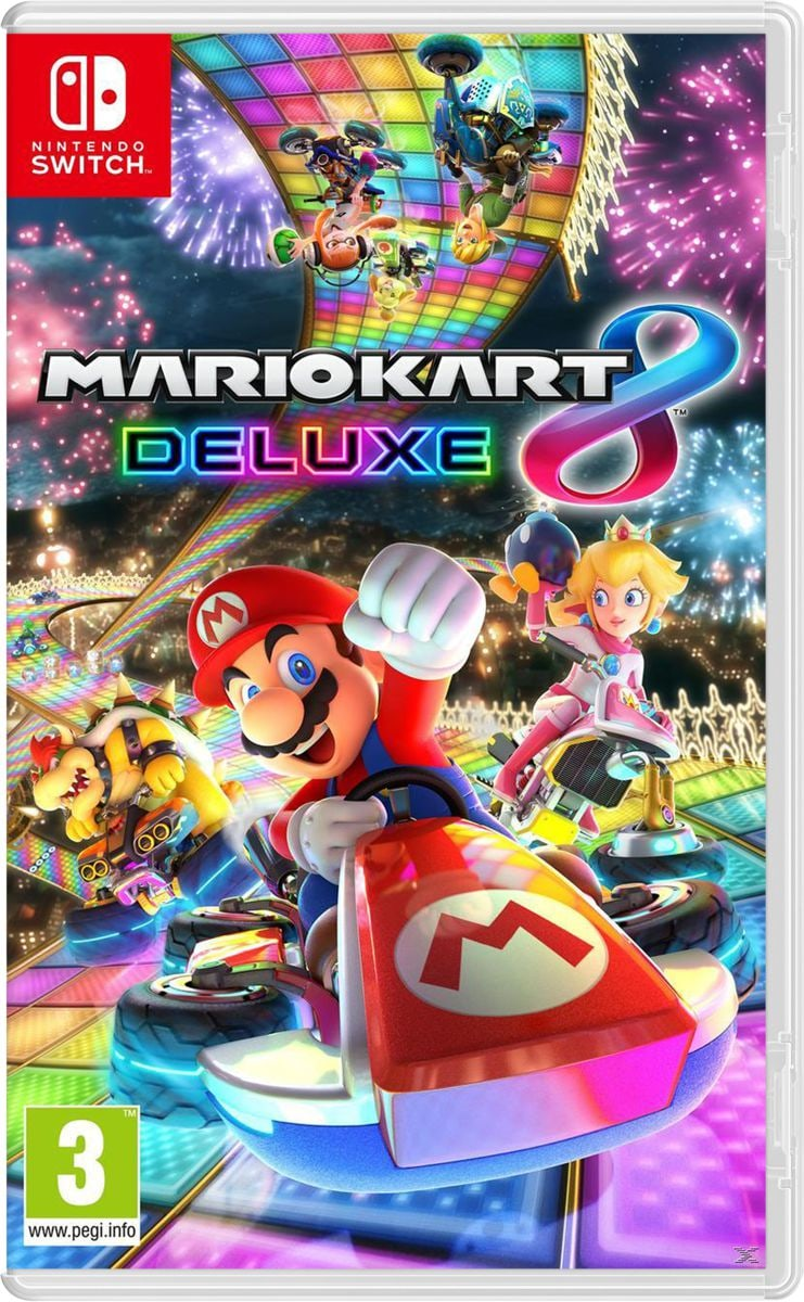 Nintendo Switch - Mario Kart 8 Deluxe Box
