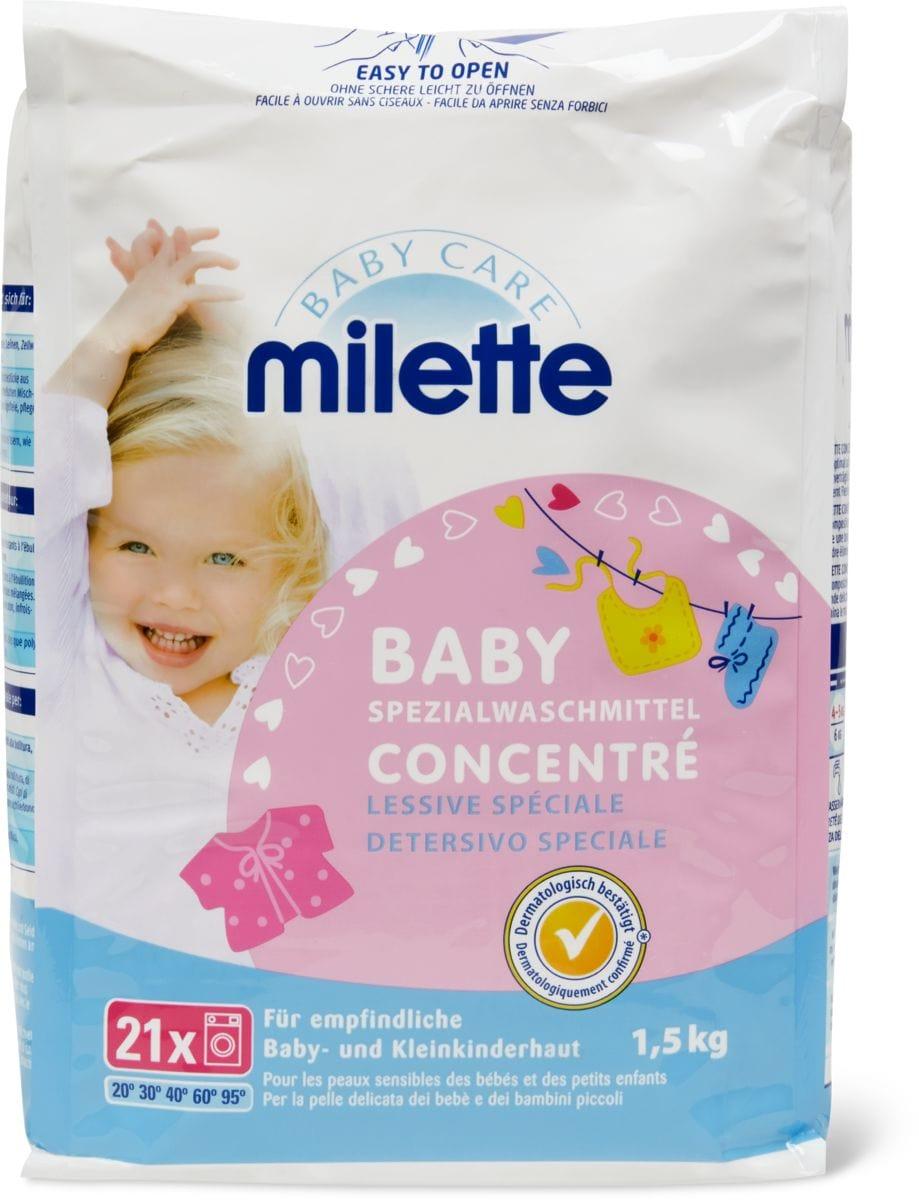 Milette Specialwaschmittel Pulver