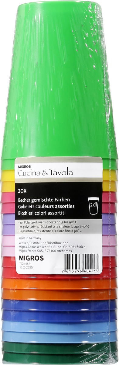 Cucina & Tavola Becher Blickdicht