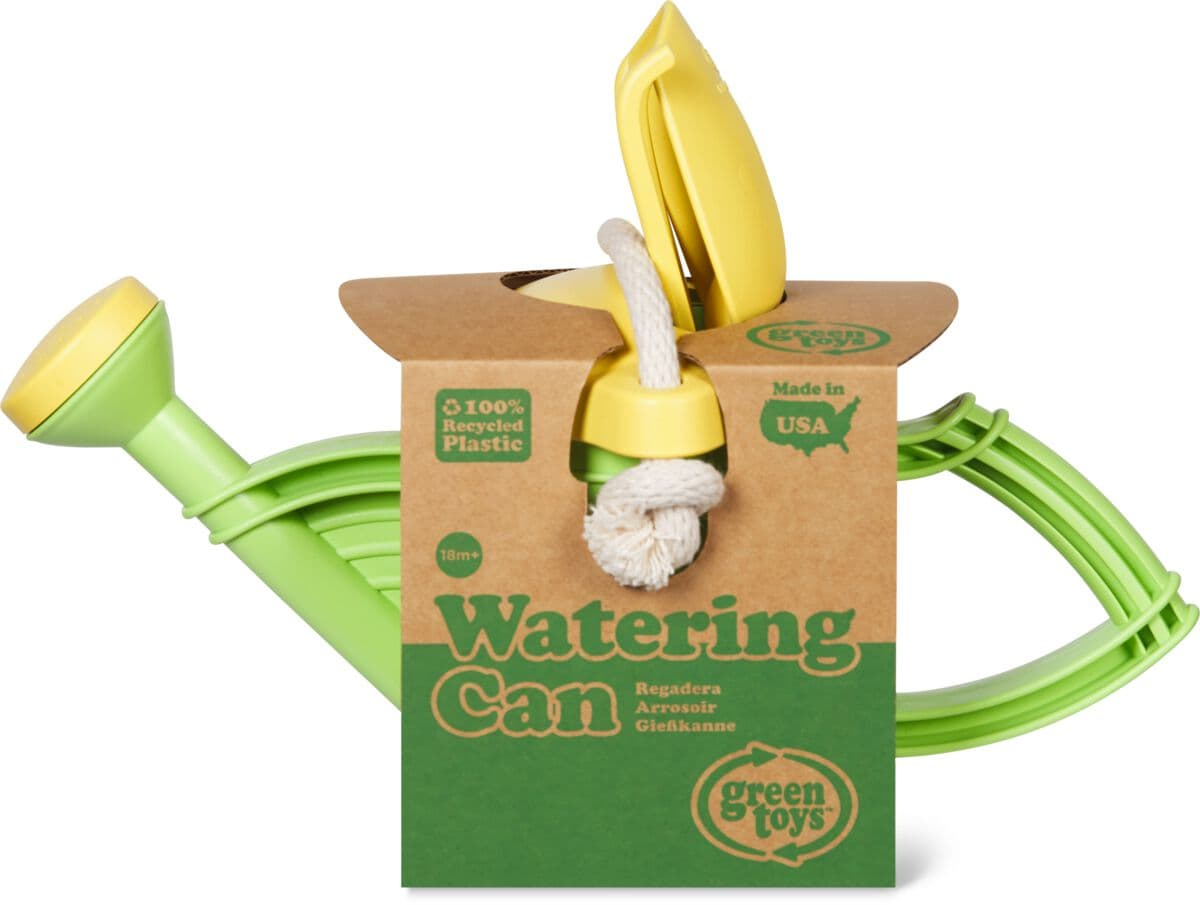 Green Toy Arrosoir Vert