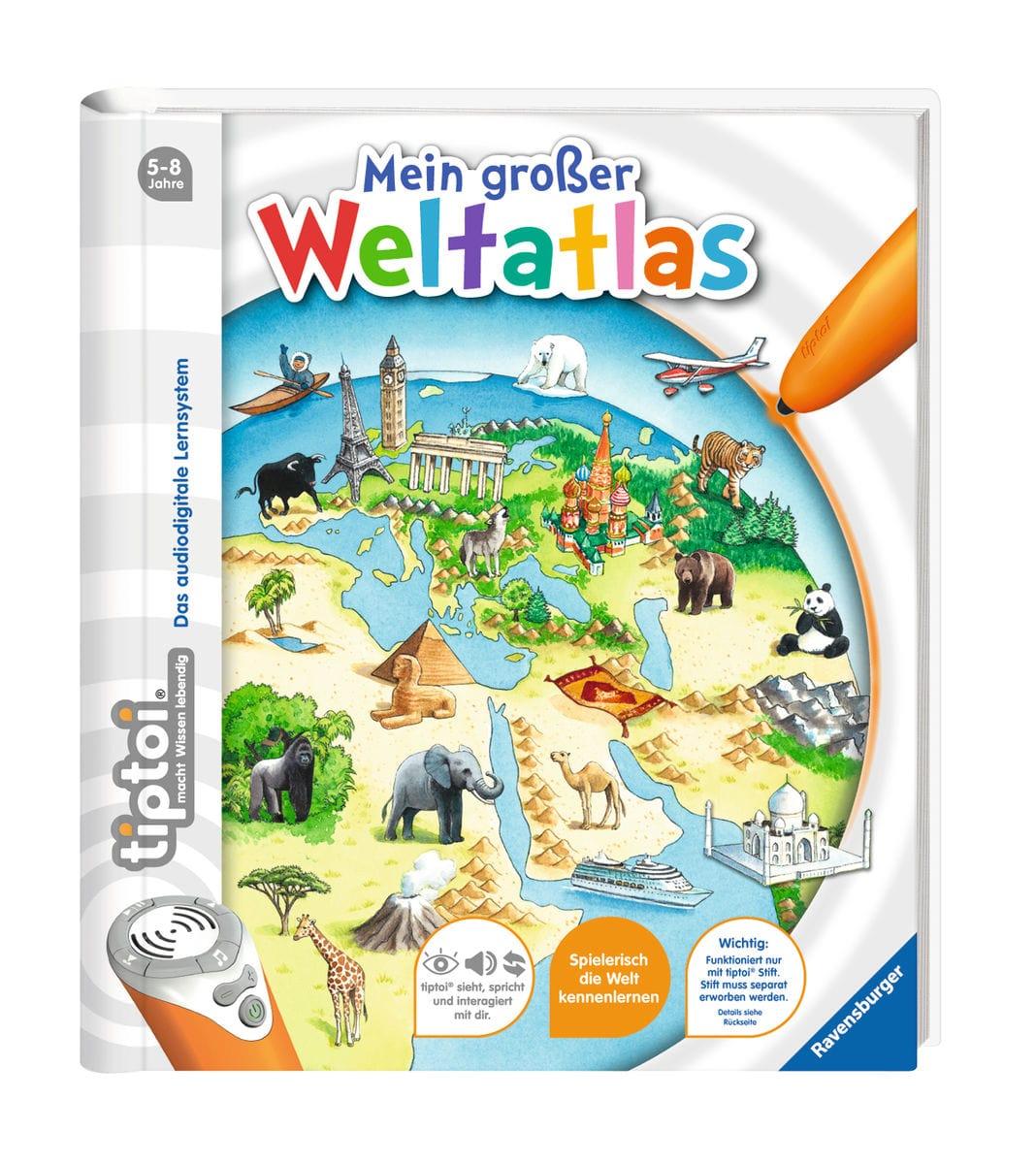 Tiptoi Mein grosser Weltatlas (D)