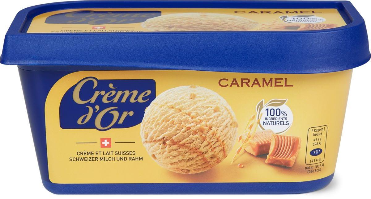 Crème d'or Caramel