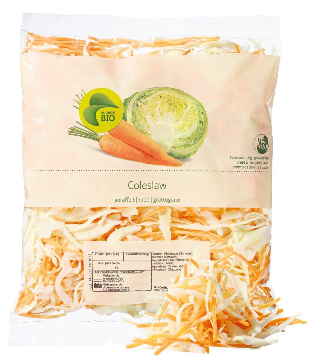 Bio Coleslaw râpé