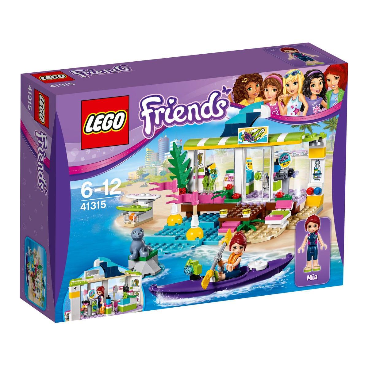 LEGO Friends Il Surf Shop di Heartlake 41315