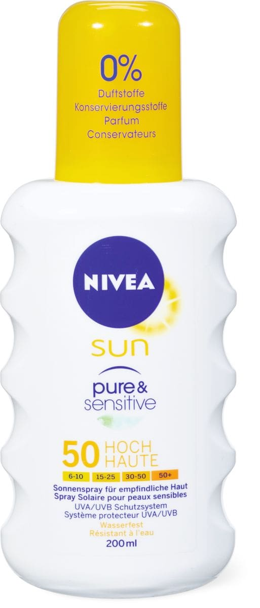 Nivea Sun FP 50 P&S spray solare