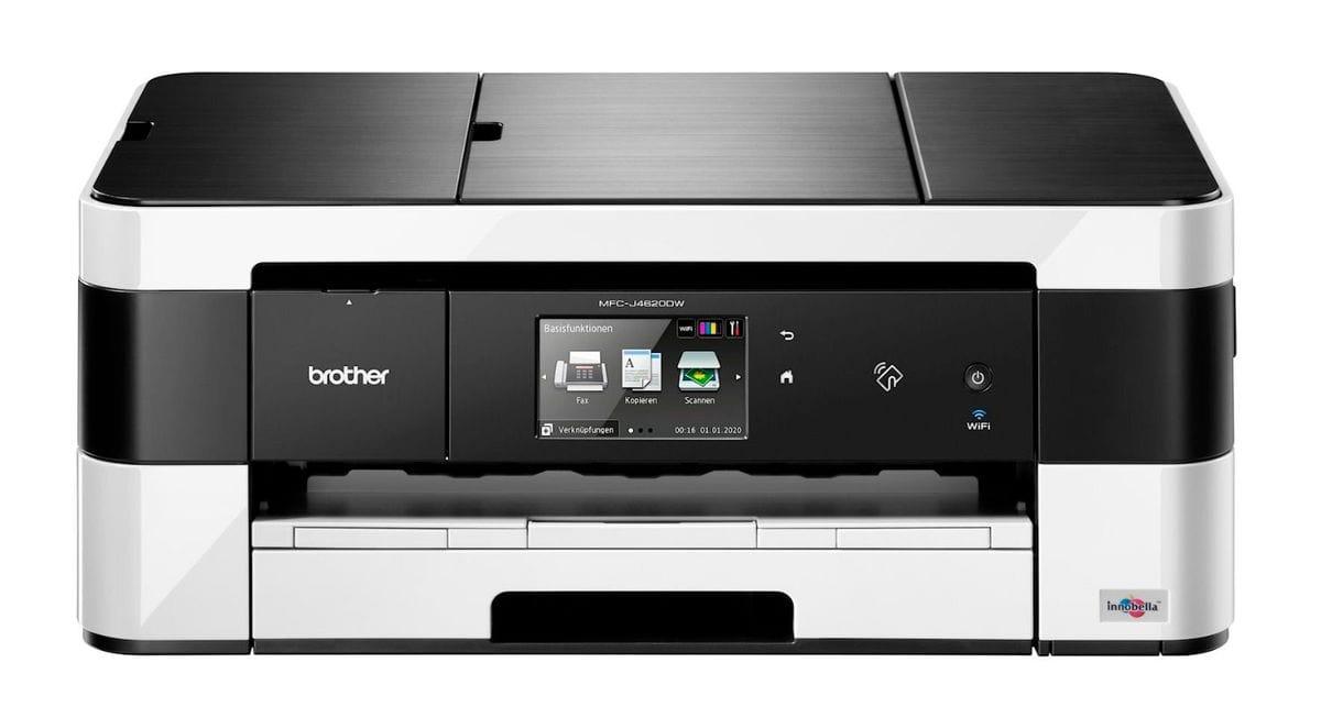 brother mfc j4620dw drucker scanner kopierer fax. Black Bedroom Furniture Sets. Home Design Ideas
