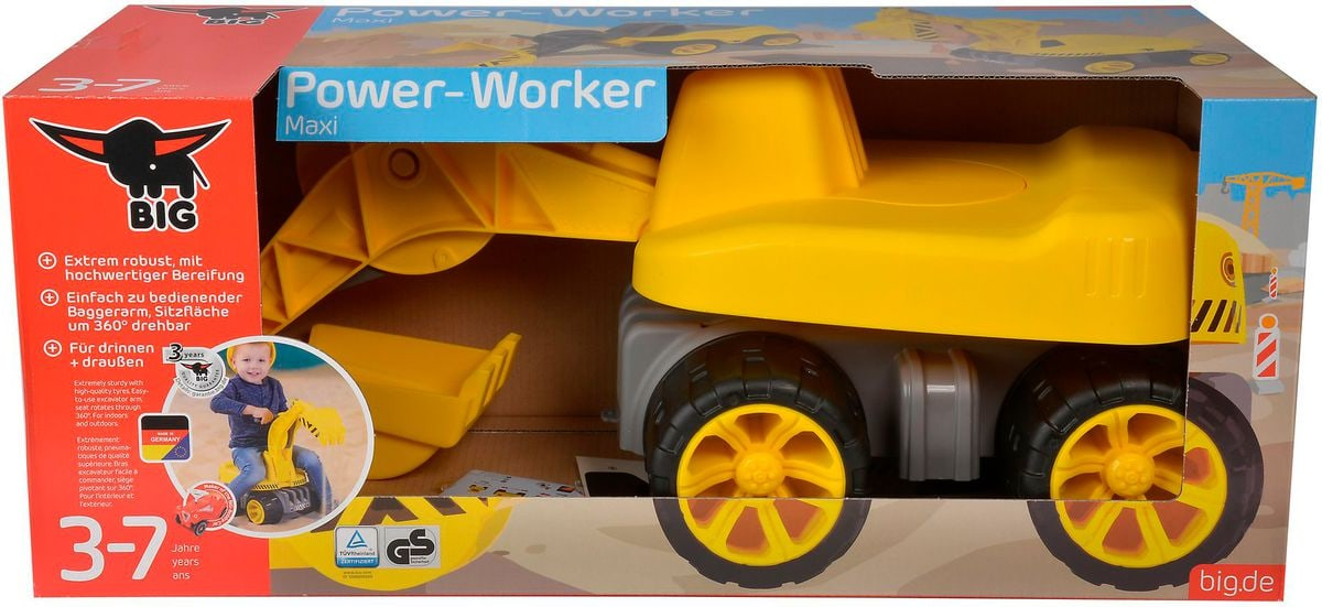 BIG Power Worker Maxi Digger Sandspielzeug