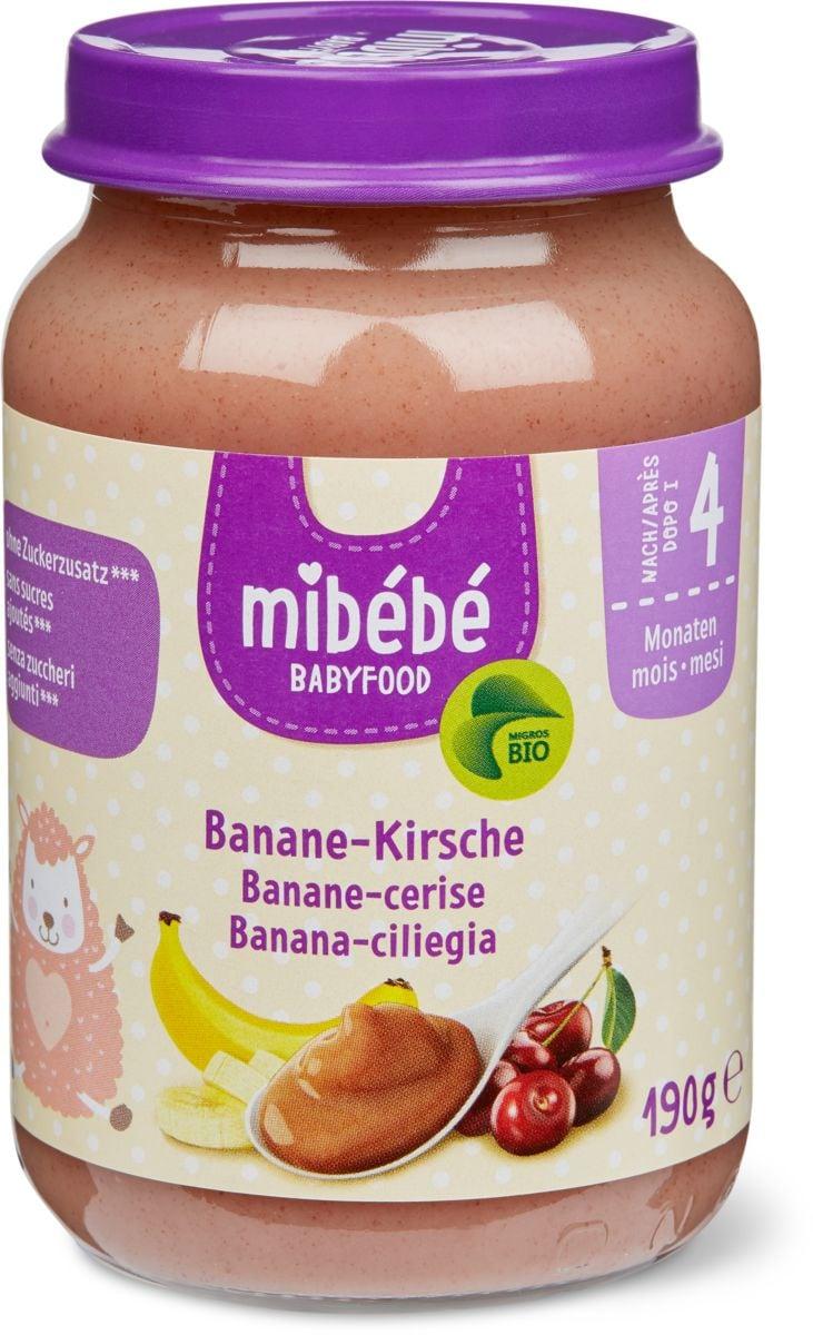 Mibébé banana-ciliegia