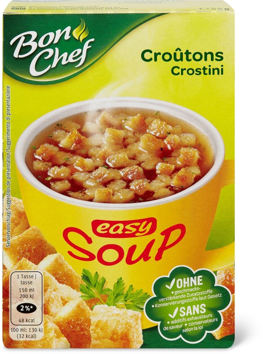 Bon Chef easy Soup crostini