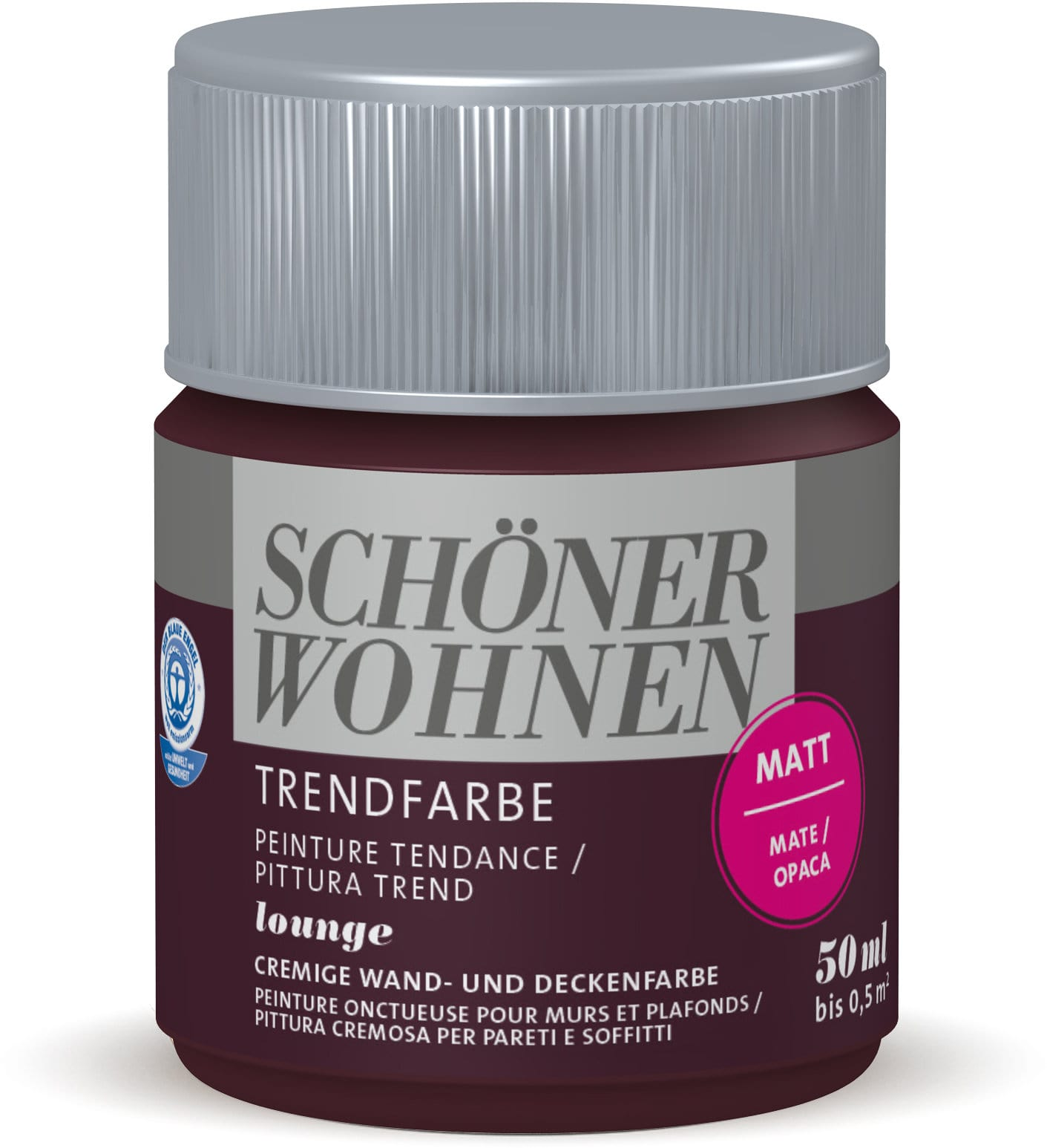 Schöner Wohnen Testeur de couleur tendance Lounge 50 ml