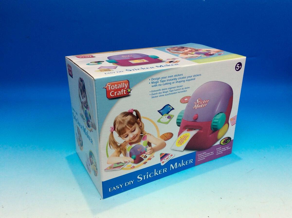 Creativ Toy Sticker Maker Basteln