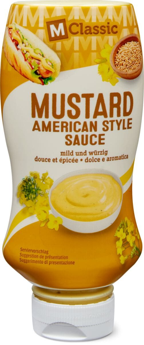 M-Classic American Style mustard sauce