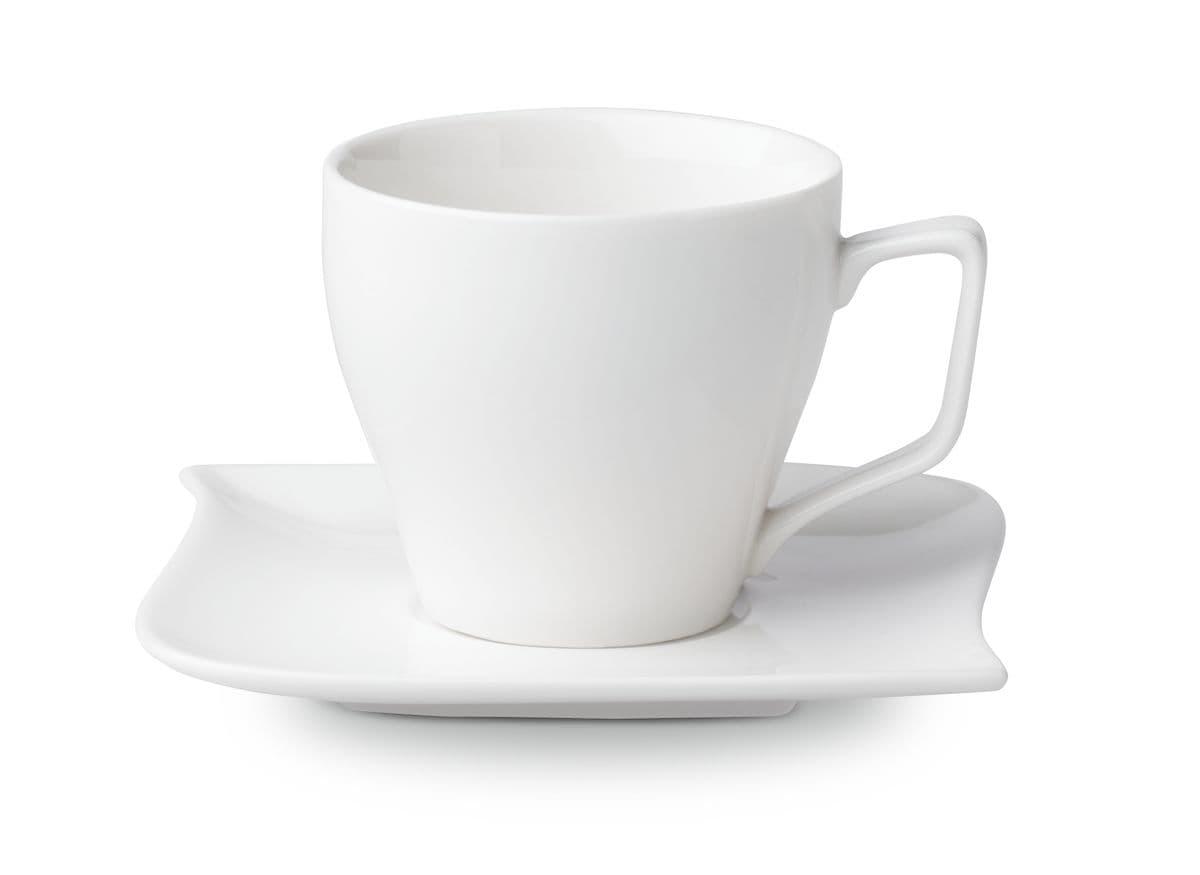 Cucina & Tavola MELODY Kaffeetasse mit Unterteller