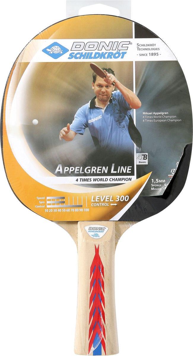 1 raquette, picots intérieurs, éponge 1,0 mm,revêtement Jade FITT Attrezzatura sportiva
