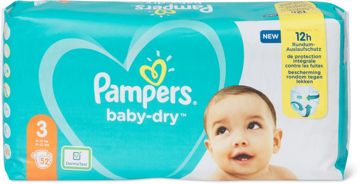 Pampers Pampers Baby Dry Gr. 3, Midi 6-10kg