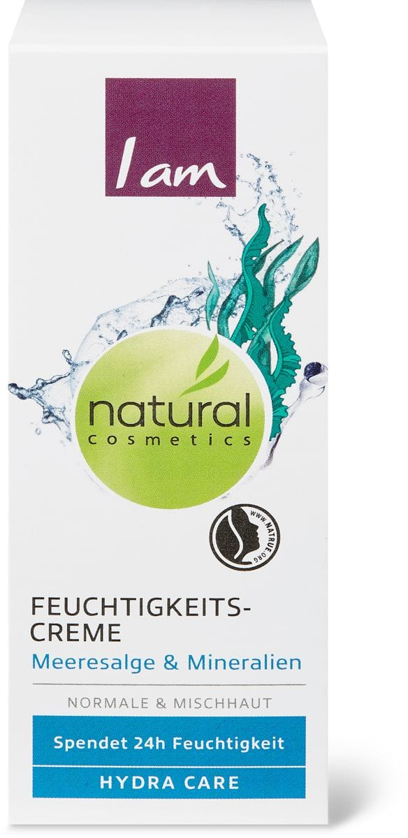 I am Natural Cosmetics hydra care 24h Feuchtigkeitscreme