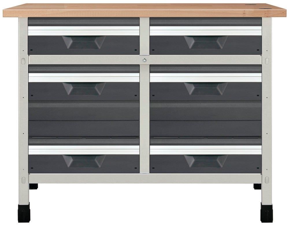 Wolfcraft Établi No. 11 1130 x 650 x 860 mm 8070