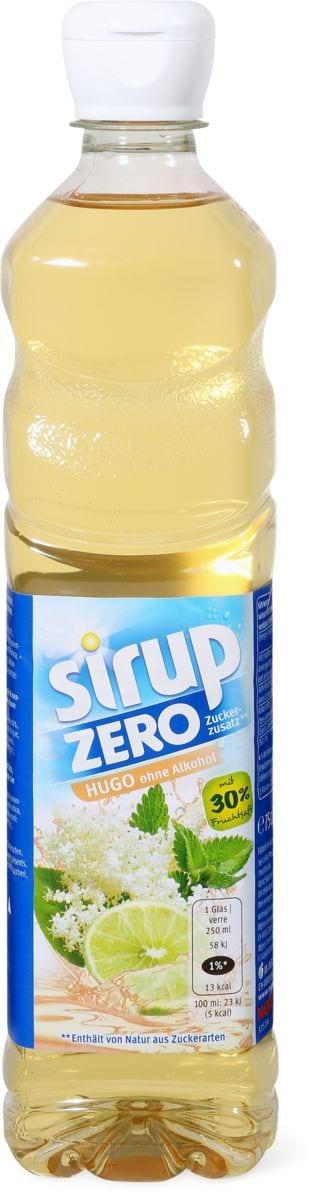 Sirop zero Hugo
