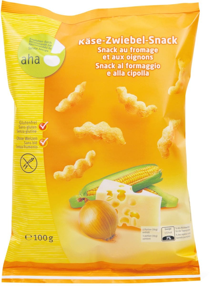 Aha! snack fromage et aux oignons