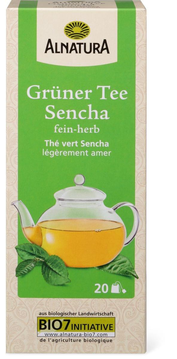 Alnatura thé vert Sencha