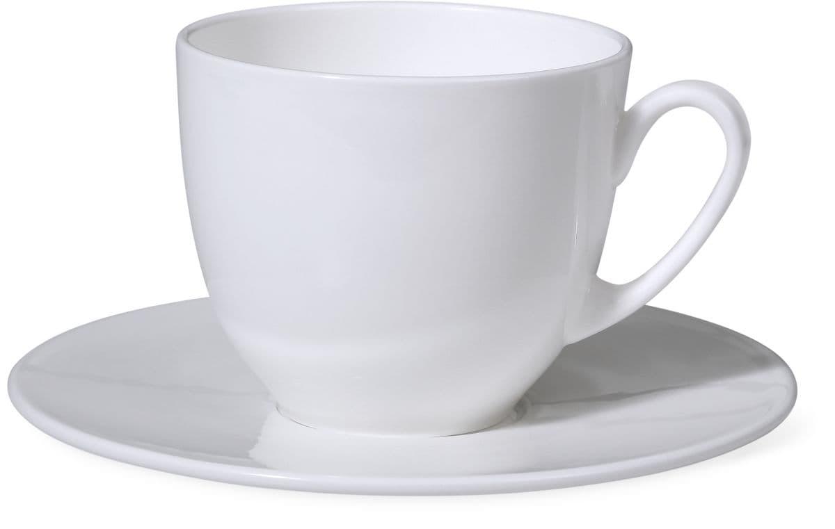 Cucina & Tavola PRIME Kaffeetasse mit Unterteller