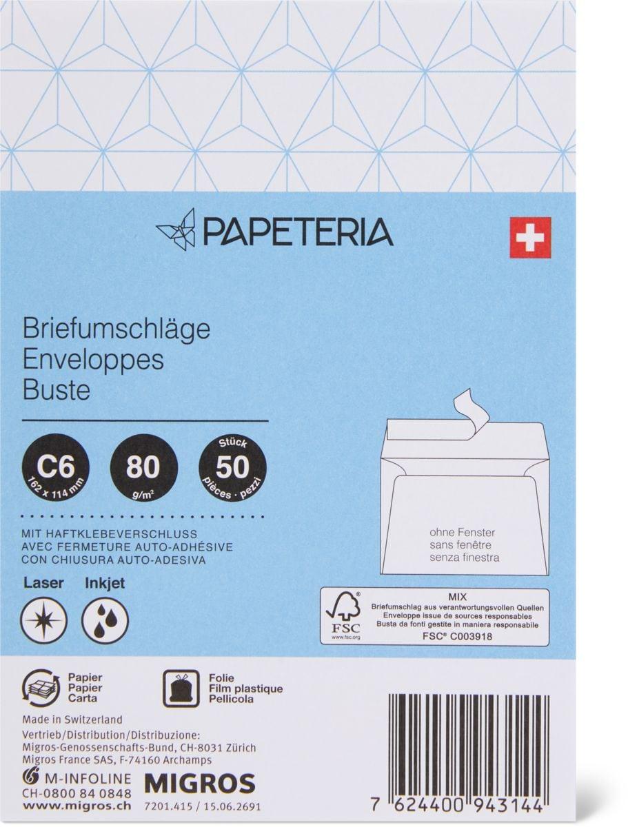 Papeteria C6 Enveloppes