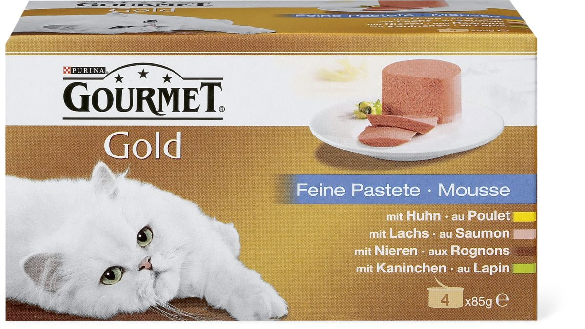 Gourmet Gold Mousse paté delicato