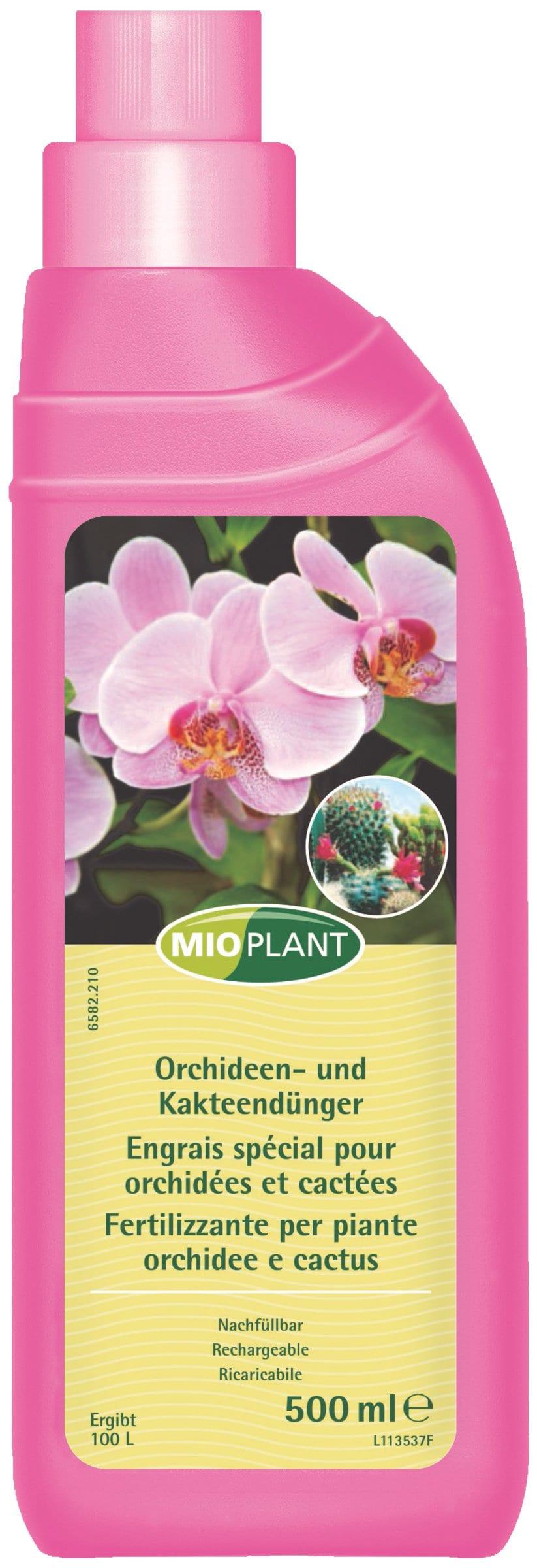 Mioplant Orchideen- und Kakteendünger, 500 ml