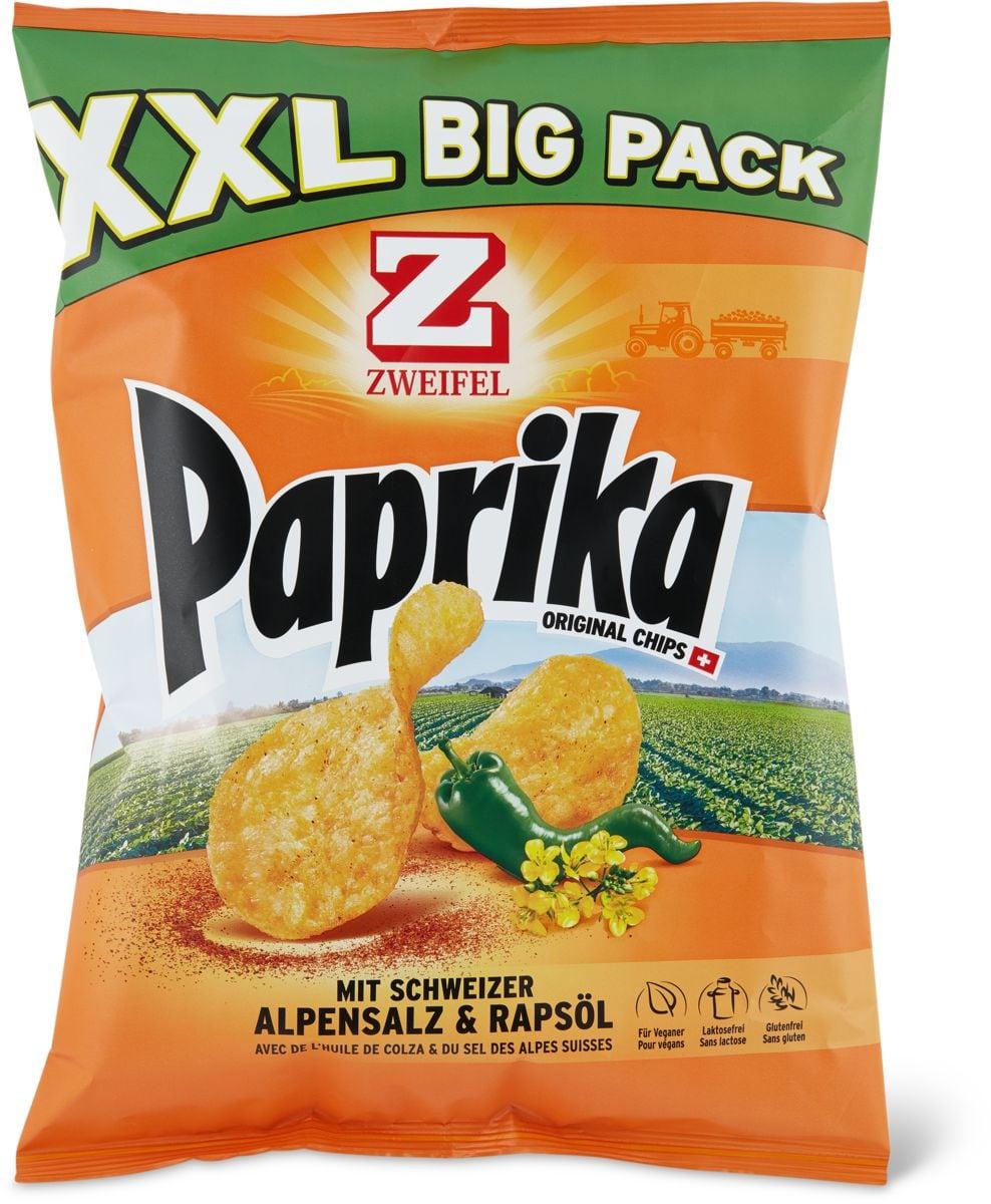 Zweifel Chips Paprika XXL